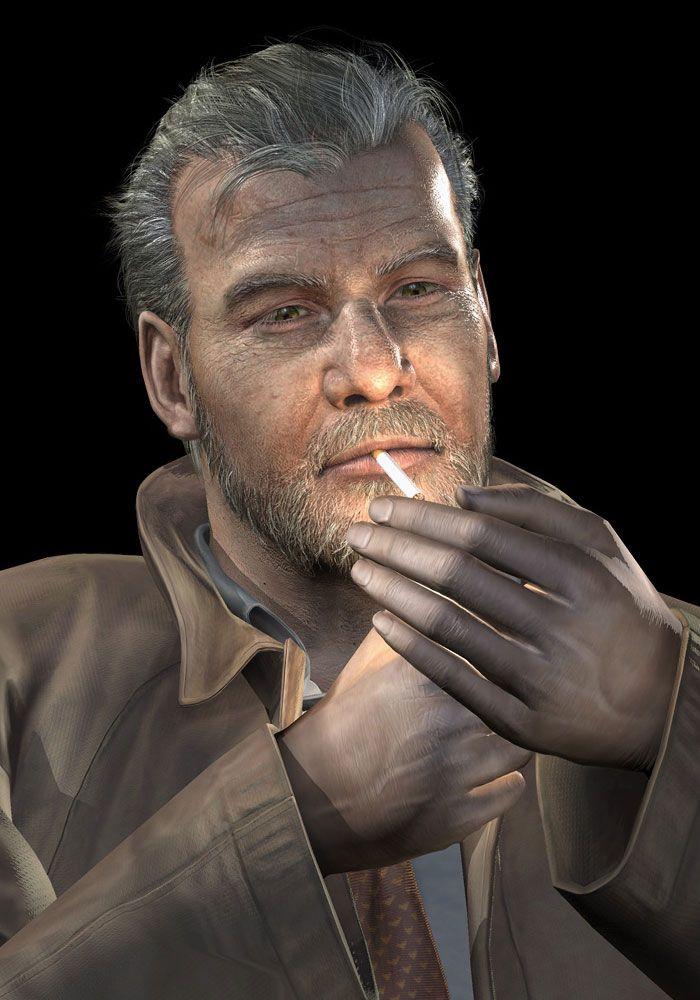 Silent Hill 3 Art & Pictures,  Douglas Lighting Cigarette