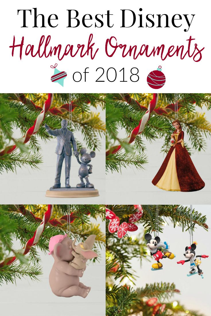 The Best Hallmark Disney Ornaments You Don T Want To Miss These Disney Ornaments They A Disney Christmas Ornaments Hallmark Disney Ornaments Disney Ornaments