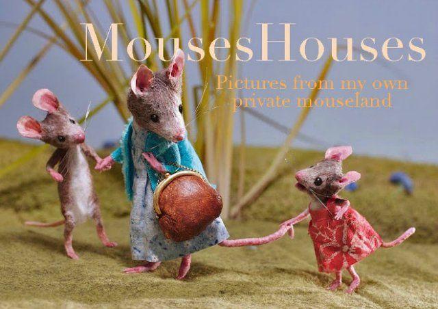 """Мышиный дом или Жизнь замечательных мышей. Авторские игрушки в книжной иллюстрации. Мэгги Руди (Maggie Rudy) - """"Mouses Houses"""" / Авторская кукла известных дизайнеров / Бэйбики. Куклы фото. Одежда для кукол"""