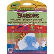 @Bugables are adorable mosquito repellent stickers that stick to your kid's clothing, hat, backpack, or shoes. A natural, convenient and fashionable choice that parents and kids love!