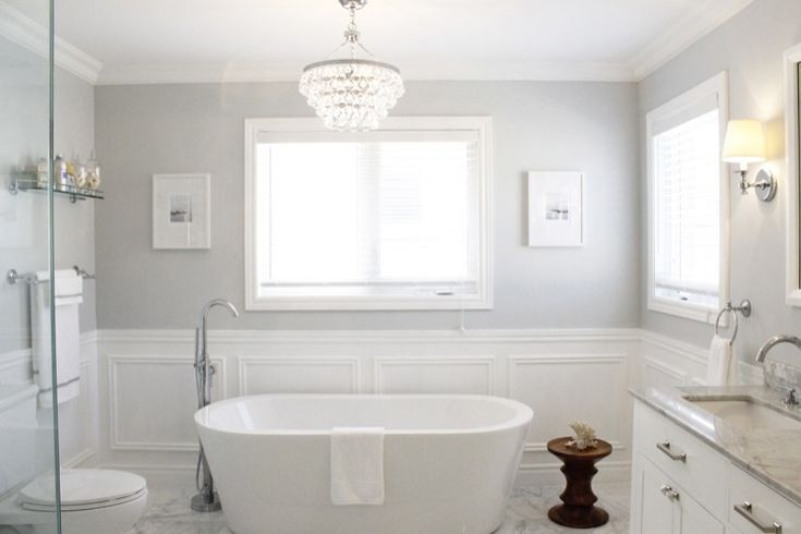 25 best ideas about light grey bathrooms on pinterest - Best light gray paint color for bathroom ...