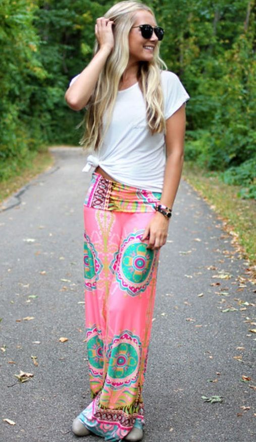 Best 25+ Hippie pants ideas on Pinterest | Hippy pants Boho pants and Gypsy pants