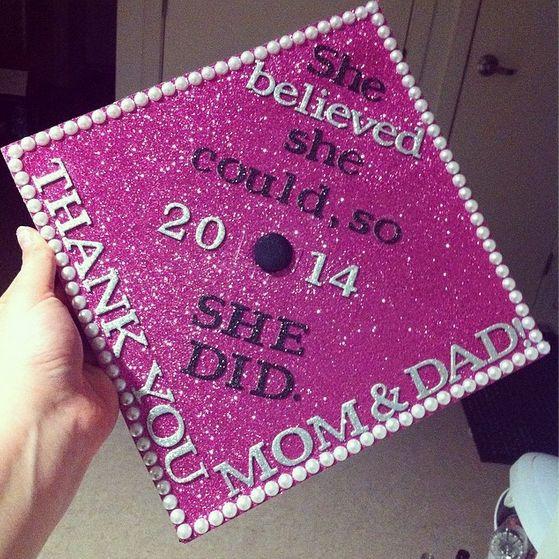 Graduation cap - decorated!! May 10th come sooner!