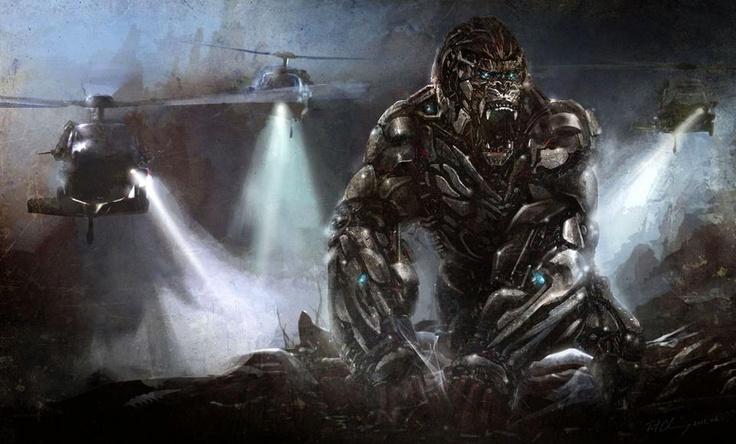 Mechanical King Kong ~Sci-Fi