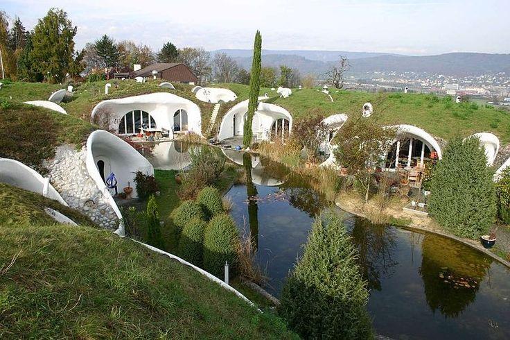 Earth House Estate by Vetsch Architektur