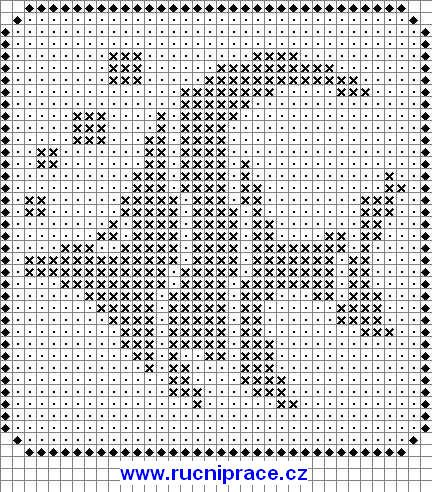 Marine world, fishs, free cross stitch patterns and charts - www.free-cross-stitch.rucniprace.cz