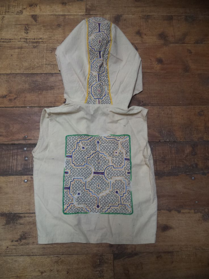 Shakruna Songs, Cowl hooded  waistcoat Burning Man/Shamanic/Steam punk/Tribal/woodland/psycadellic by Shakruna on Etsy