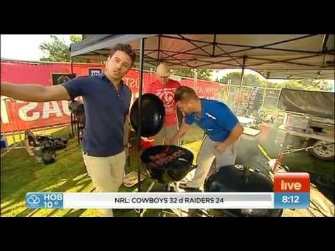 Beers, Boys and BBQ Competition Team on Sunrise