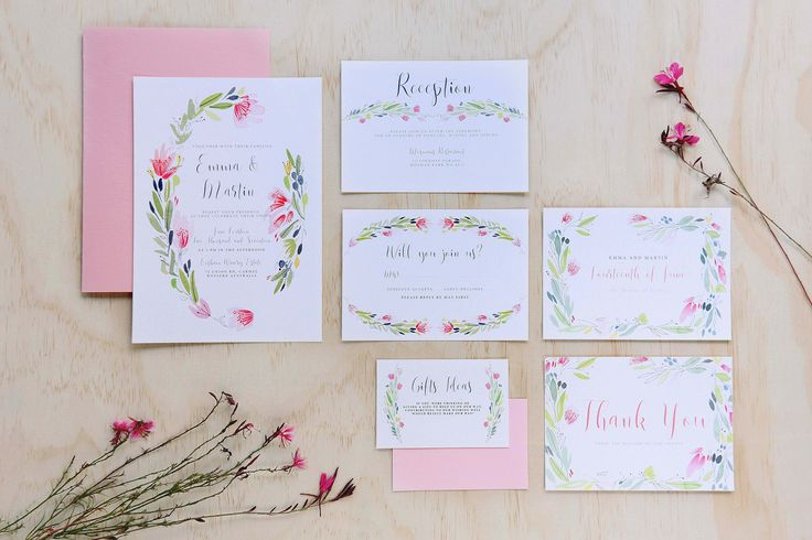 Australian Beauty Wedding and Colour WEDDING STATIONERY