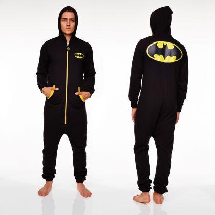 Une combinaison Batman, pour arpenter les pièces de la maison et protéger notre entourage !