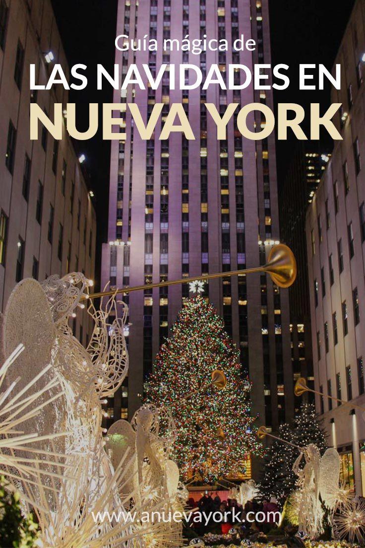 Visitar Nueva York en Navidades: guía con los mercadillos, pistas de patinaje, fecha de encendido de los árboles del Rockefeller y Bryant Park y los mejores escaparates