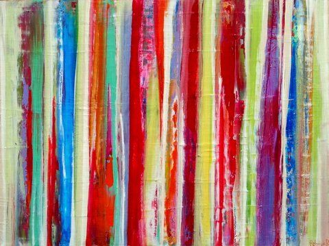 #painting Abstract, Contemporary, Modern and Original Art. Acrylic on canvas. Size: 30x40x1.5 inches. A #mixed media work created using spatulas and brushes. I u...