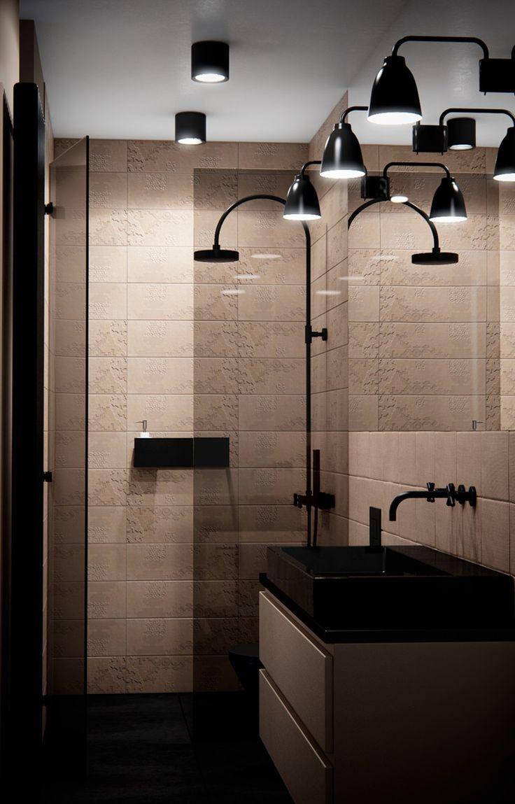 Bathroom with shower#déchirer#mutina design patricia urquiola – 2008/2010