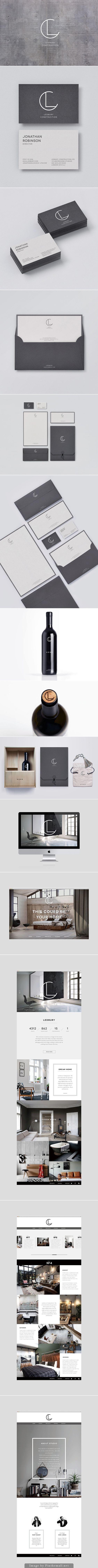 Identité visuelle | Ledburry construction: