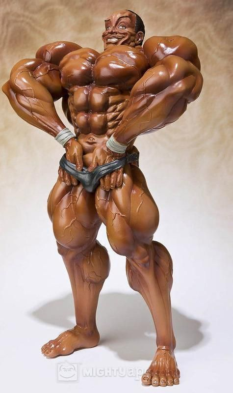 Grappler Baki Figuarts ZERO Biscuit Oriba PVC Figure ...