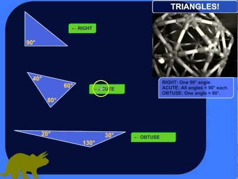 The Three Types of Triangles (Based on What Kinds of Angles They Have)