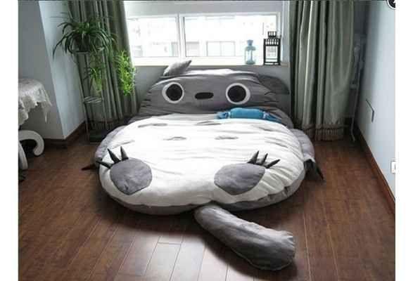 I need this. Big Totoro Sleeping Bag | 17 Must-Have Studio Ghibli Gifts