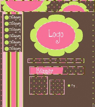 #Pink and #Green #Flowers #Webset
