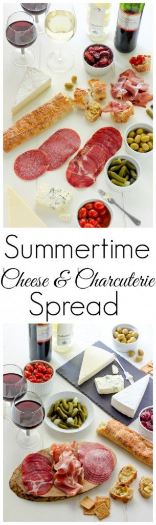 Learn how to make the ULTIMATE Summertime Cheese & Charcuterie Spread!