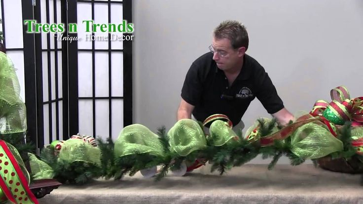 How To Decorate a Garland for Christmas - Trees n Trends - Unique Home D...