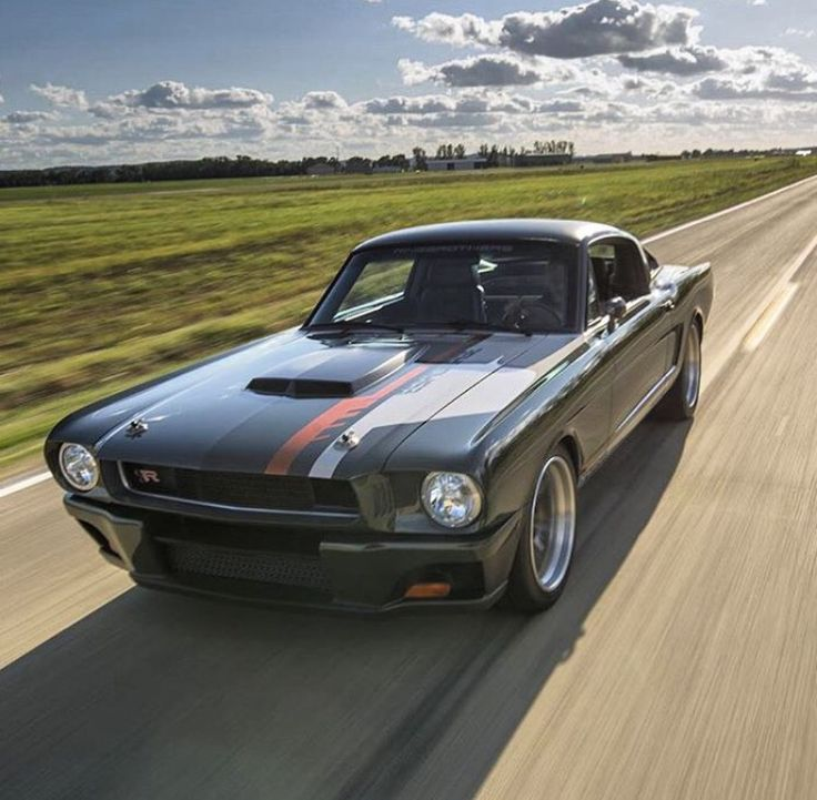 "Ring Brothers Espionage '65 Mustang, all carbon fiber body (less than 200 lb total body weight) 4"" wider than stock, 416 CI / 900+ HP Supercharged Chevy LS motor, Tremec 6-speed, probably their best effort yet!"
