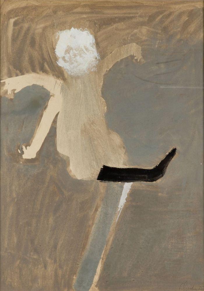Teresa Pągowska - Tańcząca, 1975 r.