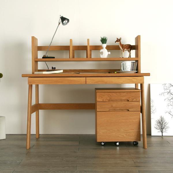 学習机 木製 勉強机 hope 120幅 ナラ 野中木工所 日本製 国産 大川家具
