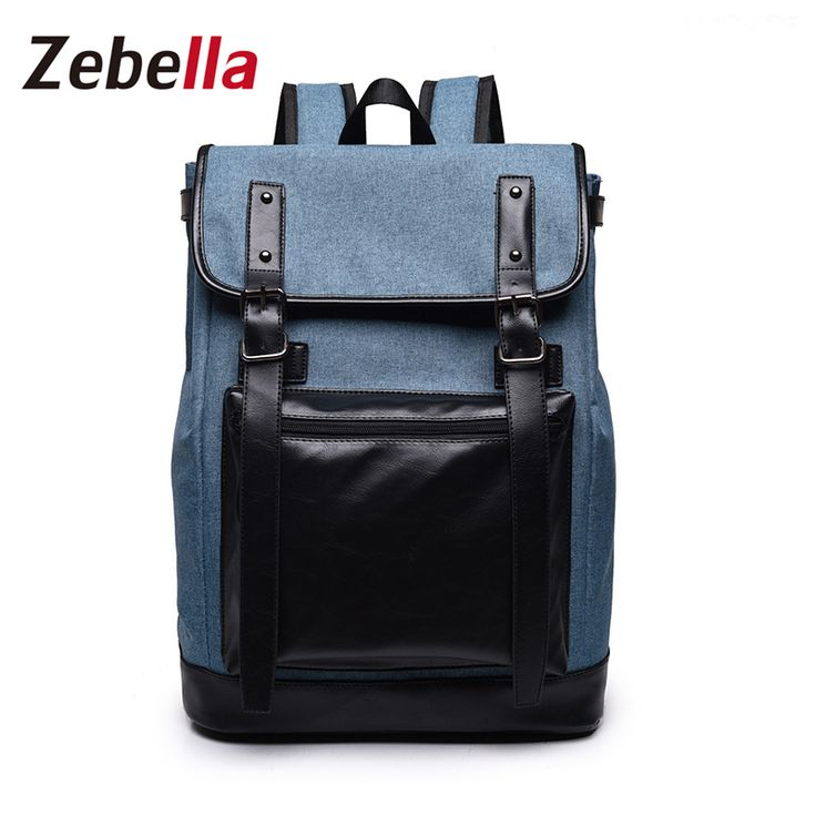 Zebella Nylon Waterproof Laptop Backpack Men School Backpacks Travel Casual Bags