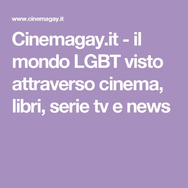Film, serie tv, libri, news, rassegna stampa e biografie di autori legati al mondo lesbo, gay, bisessuale e transessuale (LGBT)