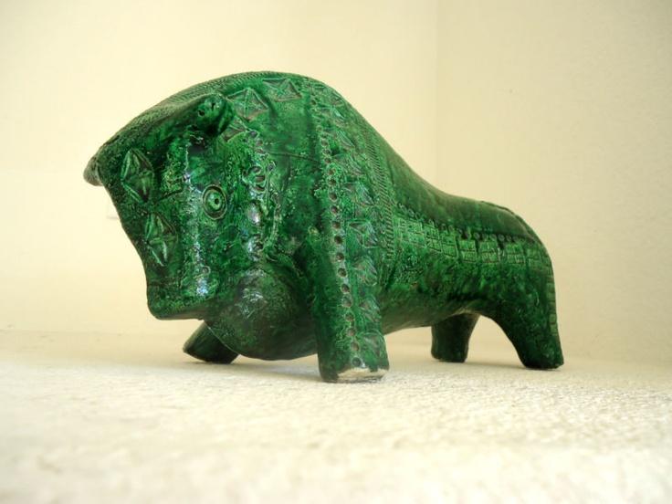Green Bitossi Bull