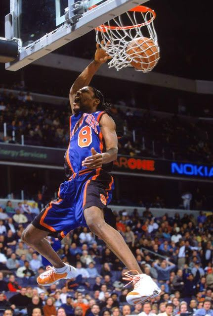 Latrell Sprewell. Love how he attacked the rim and was also a good defender but people mostly remember him for his altercation with his coach and getting suspended.