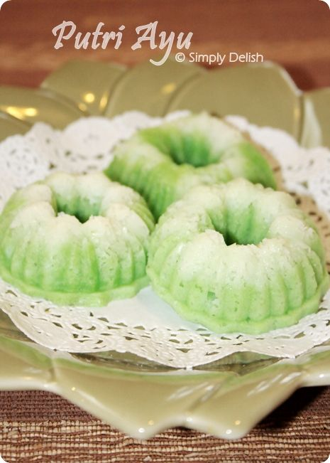 Putri Ayu   Simply Delish... With easy to follow recipe.