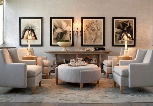 Classic Chic Home: Living Rooms