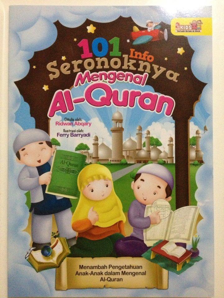 [101 INFO SERONOKNYA MENGENAL AL-QURAN] Buku ini Mengandungi 64 pages. Apakah surah pertama yang diturunkan kepada nabi Muhammad SAW? Bagaimana pula cara baginda menerima wahyu? Surah apakah yang terpanjang dalam Al-Quran? Banyak lagi persoalan tentang Al-Quran..semuanya akan terjawab dalam buku ini...