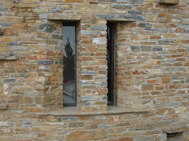 Windows _ exterior | view | stone | handcrafted detail | house | Sporades | design | local architecture | construction _ visit us at: www.philippitzis.gr