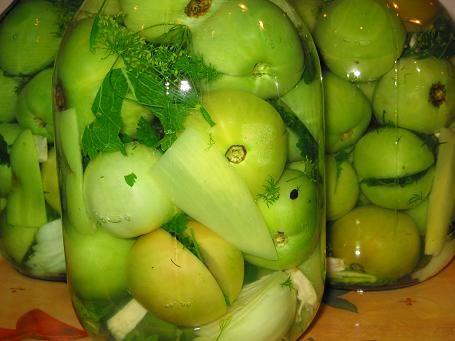 Заготовка помидоров на зиму, рецепт фаршированных зеленых помидоров. Рецепт c фото от оля-в 24 июня 2009, 19:43, мы подскажем, как приготовить!