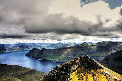 Slættaratindur, Eysturoy, Faroe Islands