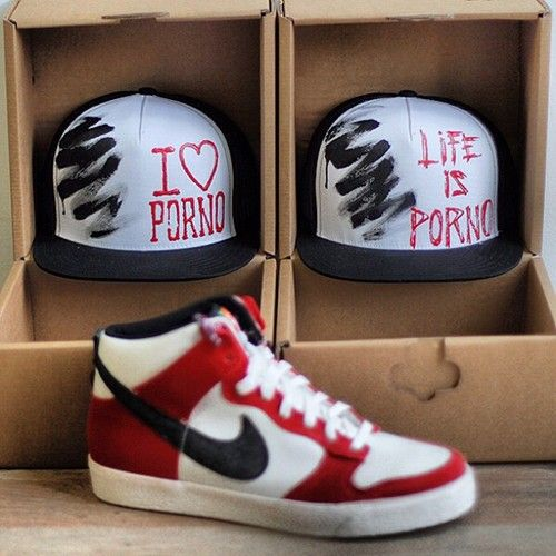 #LifeispornoACAB edition X. in cooperation with @SNEAKER BARBER #popup store in #Bratislava.