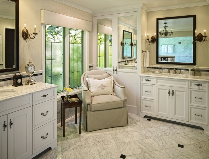 Master Bathroom Seating Area