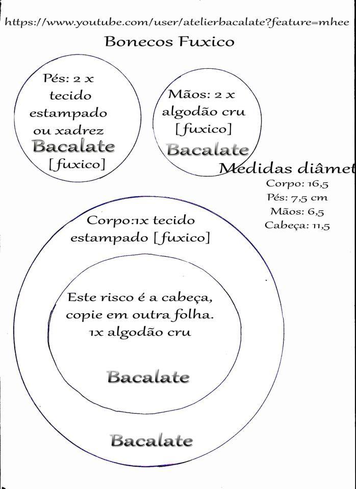 Como fazer BONECA e BONECO de FUXICO LEMBRANCINHA