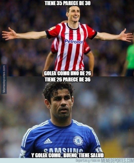 Aduriz vs Diego Costa