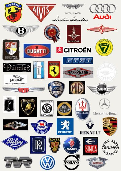 Best Car Logos Images On Pinterest Car Logos Hood - Cars sign and names