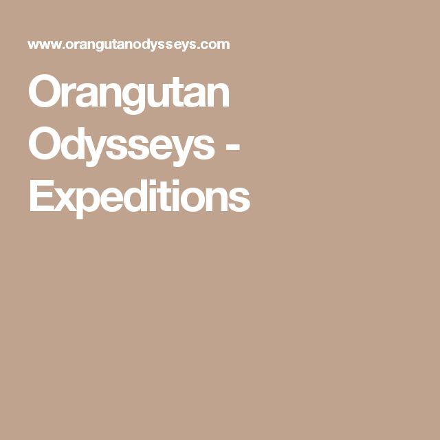 Orangutan Odysseys - Expeditions