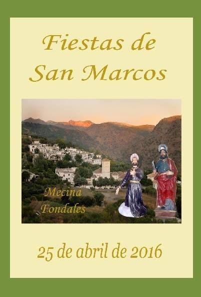 Próximos Eventos | Mecina Fondales (Fiestas de San Marcos. 2016) | Publicaciones I Love Alpujarra