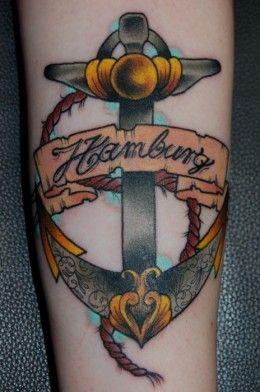 Top Ten Anchor Tattoo Designs Online