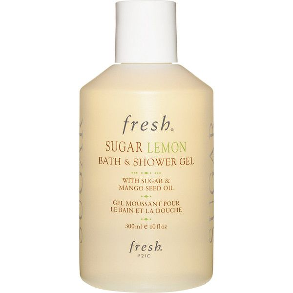 Fresh Sugar Lemon Bath and Shower Gel (1.145 RUB) ❤ liked on Polyvore featuring beauty products, bath & body products, body cleansers, beauty, body wash and colorless