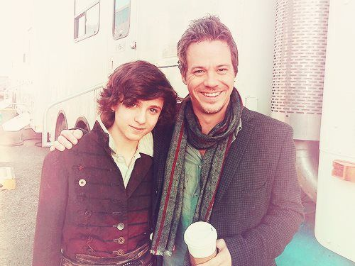 Dylan Schmid(Baelfire) and Michael Raymond-James(Neal)