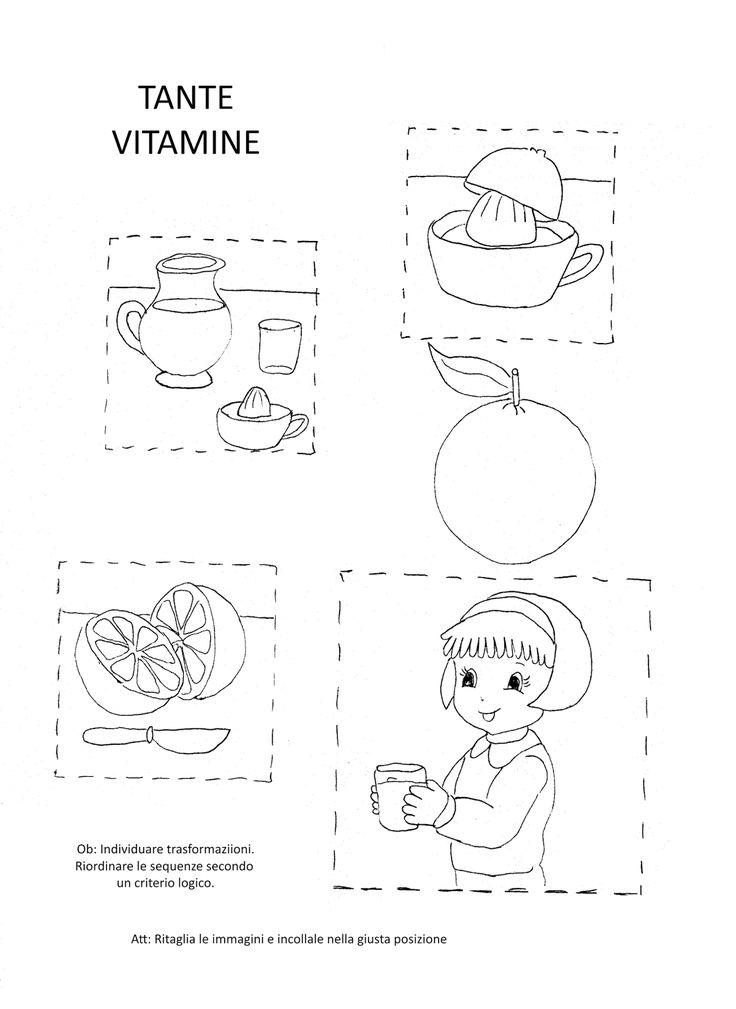 Oltre 25 fantastiche idee su lavoretti con la frutta per for Schede didattiche natale scuola infanzia