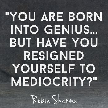 Robin Sharma shares his 20 best quotes for epic achievement.