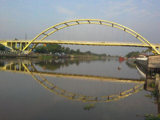 Siak Bridge - Pekanbaru Sumatera Indonesia